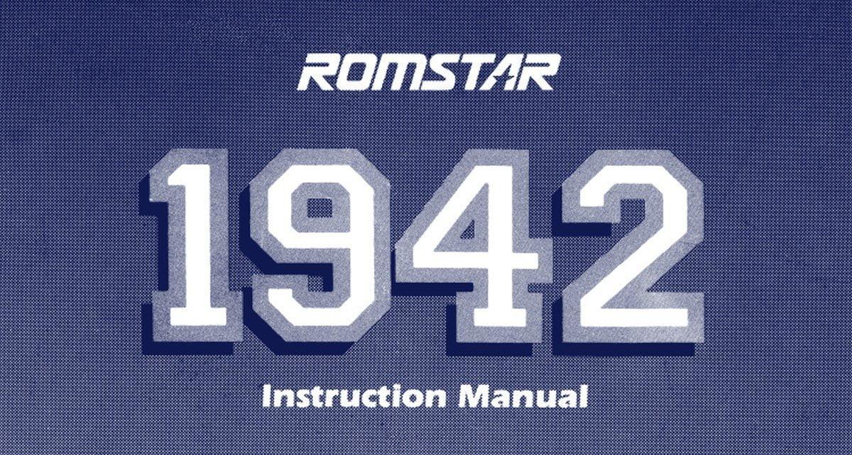 1942 Capcom imagen manual